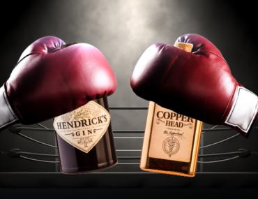 Bottle Battle: Hendricks Gin vs. Copperhead Gin