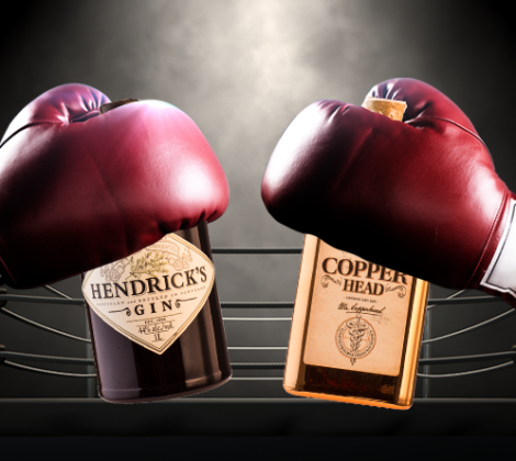 Bottle Battle: Hendrick's Gin vs. Copperhead Gin
