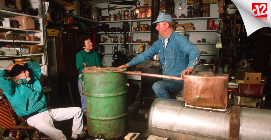 Moonshine: this is how they make it