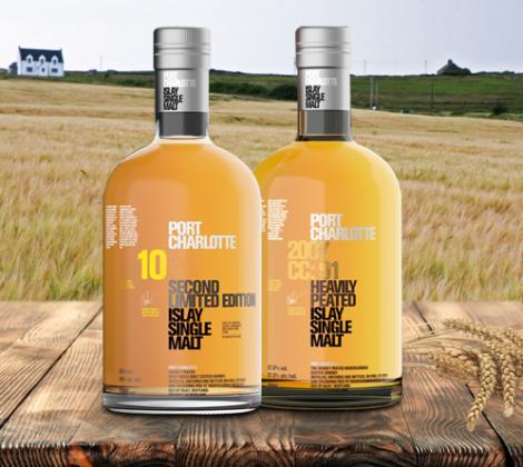 Port Charlotte whisky: Nieuw – 10yrs & CC:01