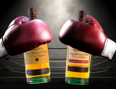 Singleton of Dufftown – bottle battle