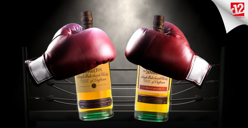 Singleton of Dufftown – bottle battle