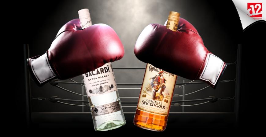 Bottle Battle: Bacardi vs. Captain Morgan