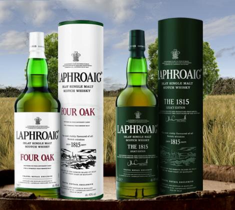 Laphroaig Four Oak & Laphroaig 1815