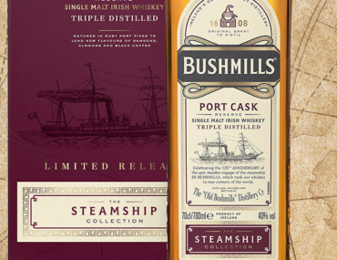Binnenkort verwacht: Bushmills Steamship Collection