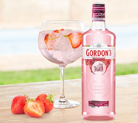 Binnenkort verwacht: Gordon's Pink Gin