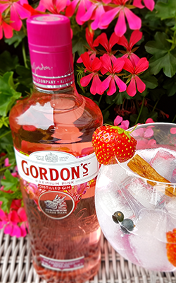 Gordon's Pink Gin - Perfect Serve