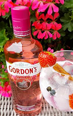 Gordon's Pink Gin - Perfect Serve
