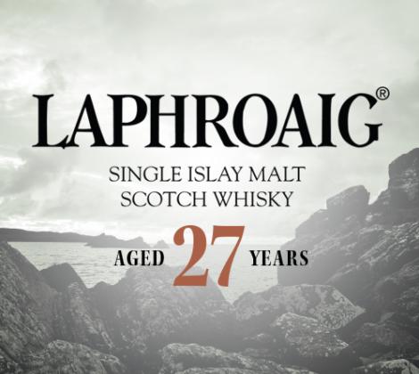 Nieuw: Laphroaig 27 years
