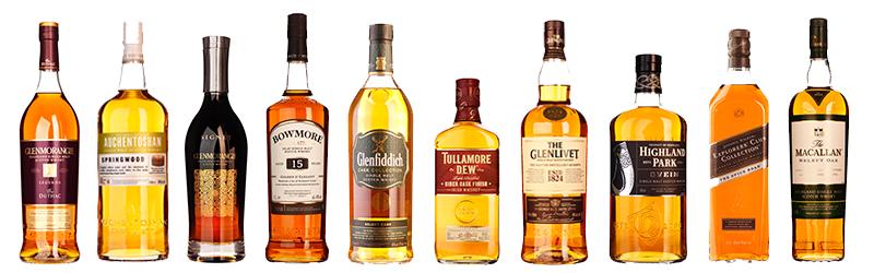 Travel retail whisky