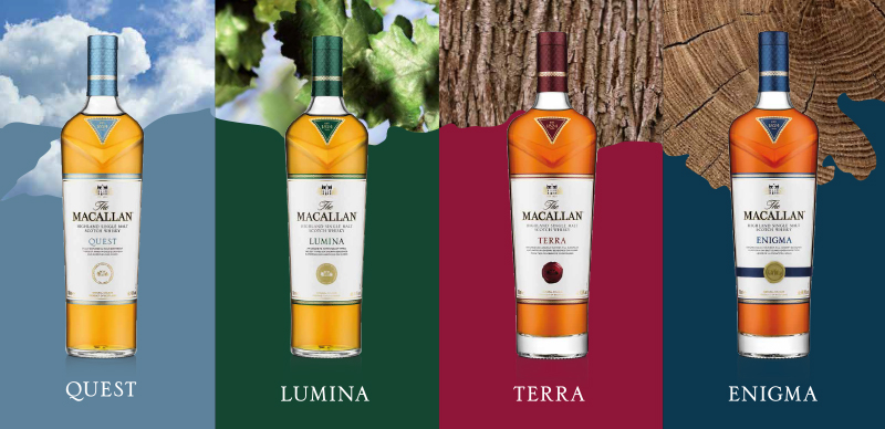 Macallan Quest Collection - Travel retail
