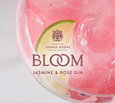 Bloom Pink Gin, een nieuwe roze gin.