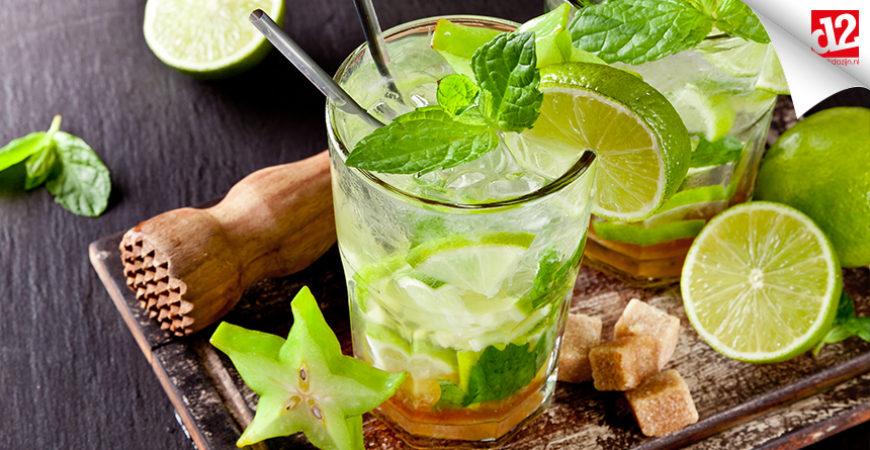 Mojito maken, de zomer in een glas.
