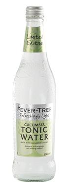 Fever Tree Cucumber Water, een heerlijke frisse en zomerse dorstlesser. Ideaal voor Gin & Tonics.