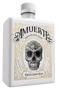 Amuerte Coca Leaf White, de eerste gin op basis van cocabladeren.