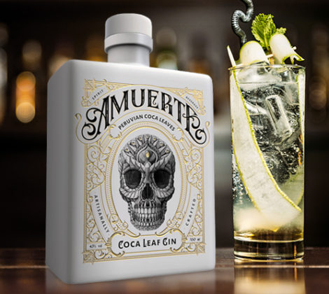 Amuerte White Edition Coca Leaf Gin