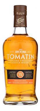 Tomatin 15 years, een fraaie whisky met een bijzondere finish.