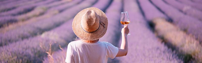 Rosé uit Provence, wijn voor de fijnproevers.