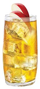 Jack Daniels & Apple; een simpele, maar smaakvolle mix.