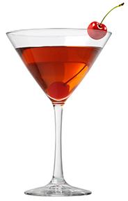 Jack Daniels Manhattan; een twist op een klassieke cocktail.