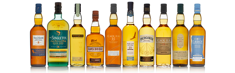 Diageo Special Releases 2018, limited edition whisky.