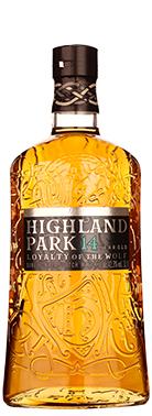 Highland Park 14 years Loyalty of the Wolf, een 14 jarige whisky die onderdeel is van een nieuwe serie.