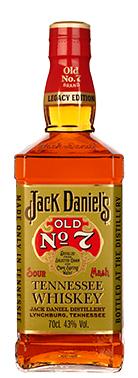Jack Daniels Legacy; een nieuwe whisky toebehorend aan het merk.