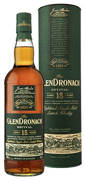 Glendronach 15 years Revival wordt opnieuw uitgebracht in 2018