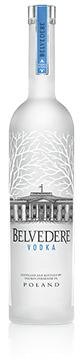 Belvedere staat bekend om de kenmerkende fles en de hoge kwaliteit