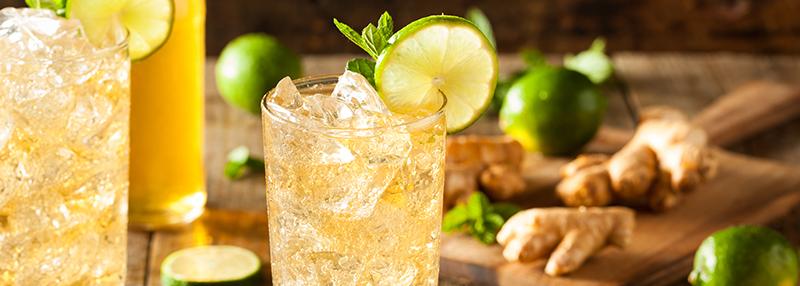 Grey Goose mixen: kies voor Ginger Beer en een schijfje limoen