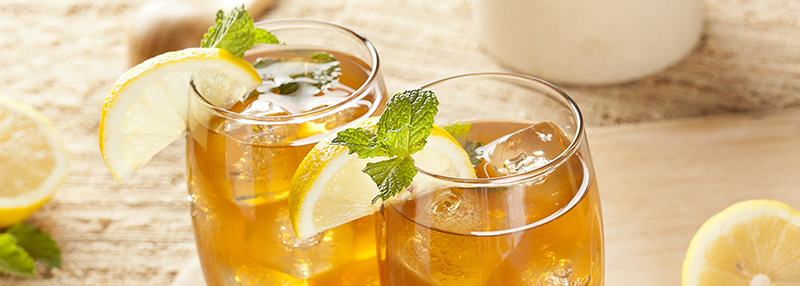 Grey Goose mixen? Kies voor een combinatie met Ice Tea en citroen.