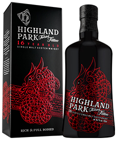 Highland Park Twisted Tattoo: een fraai vormgegeven fles en een smaakvolle whisky