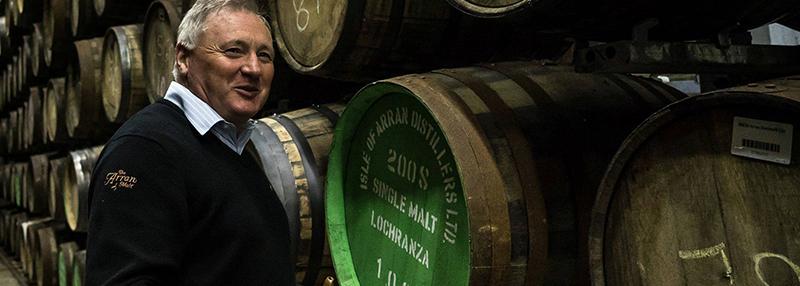 Dit is James MacTaggart, de Master Distiller van Arran whisky!