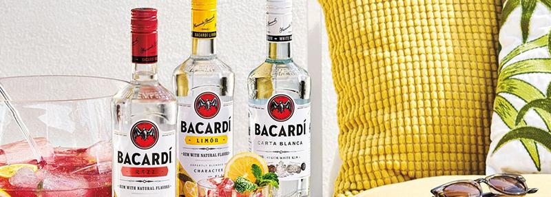 Ontdek de vele Bacardi smaken in ons blog
