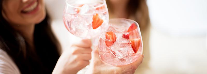 Ook roze gin ontdek je in ons blog