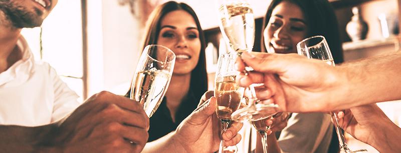 Champagne voor de feestdagen?