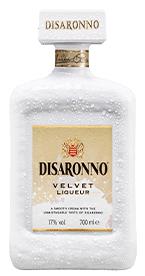 Disaronno Velvet komt in een prachtige witte fles