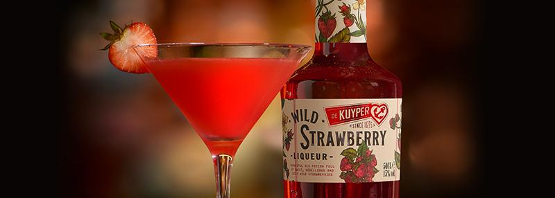 Maak een Strawberry Fizz, volg de stappen!