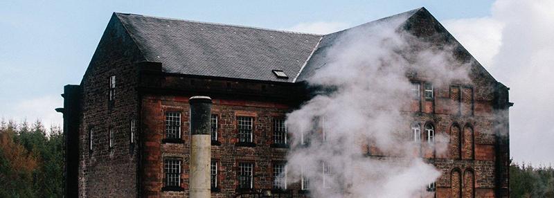 De Deanston whisky distillery