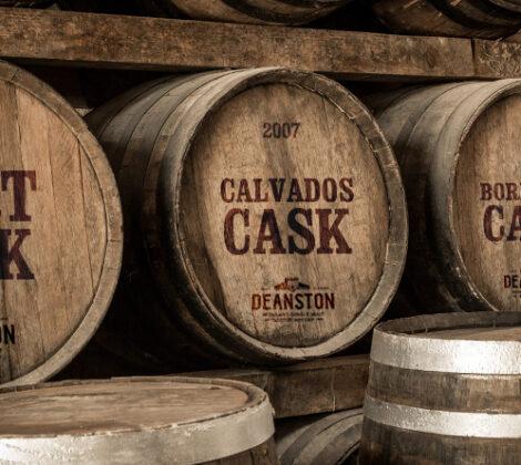 3 Deanston whisky's met bijzondere vatrijpingen