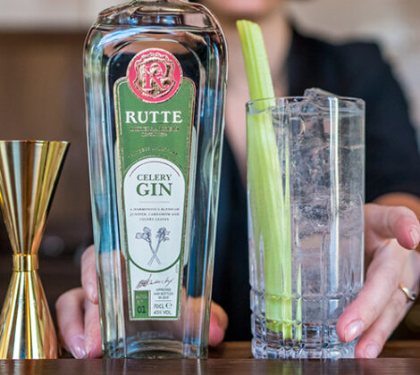 Rutte Celery Gin: een smaakvolle expressie