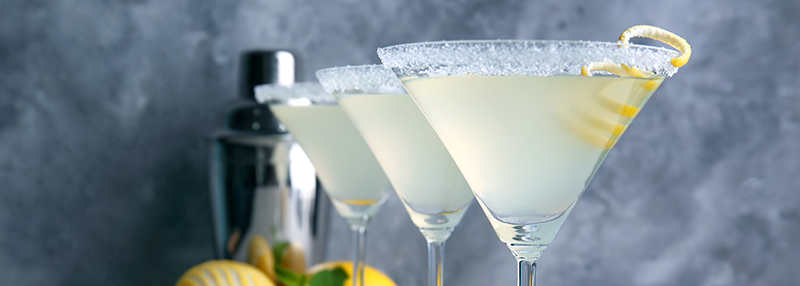 Lemon Margarita cocktail maken