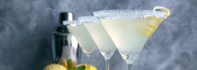 Lemon Margarita cocktail maken
