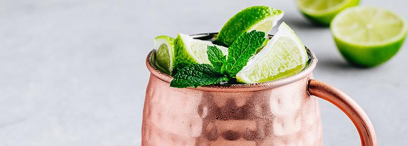 Polish Mule cocktail