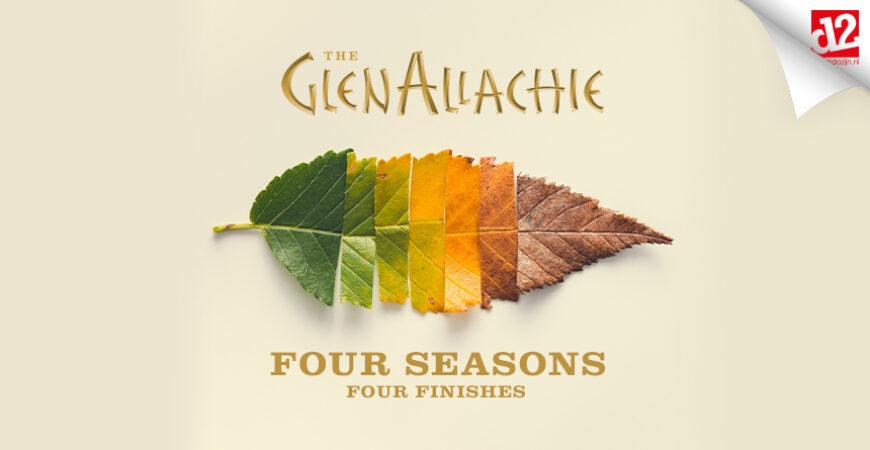 GlenAllachie Four Seasons: single cask whisky