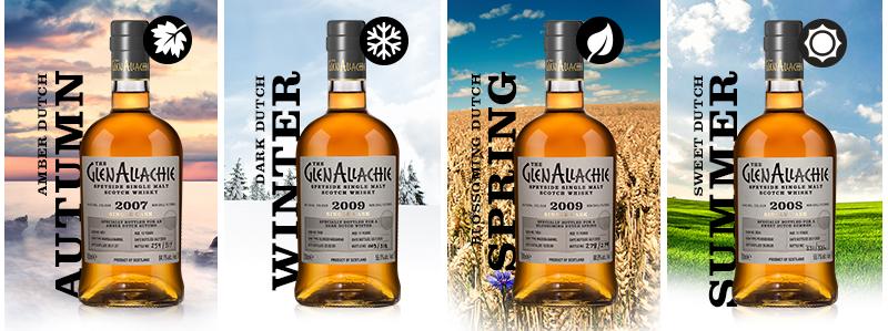 GlenAllachie Four Seasons whisky