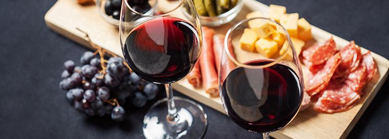 Tips: rode wijn & spijs