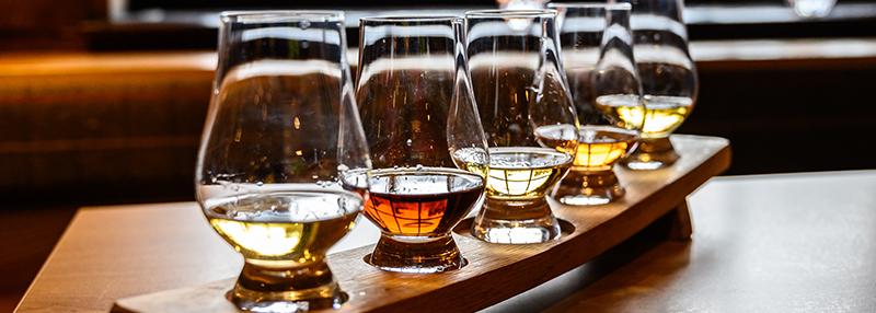 Ontdek verschillende whisky's voor beginners